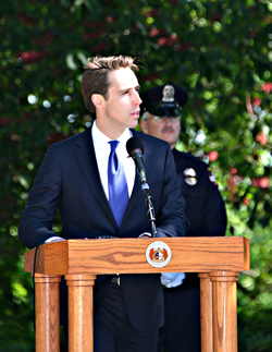 AG Hawley Speaking